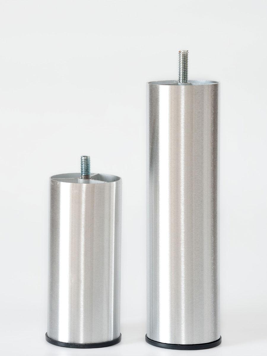 sängben borstad aluminium